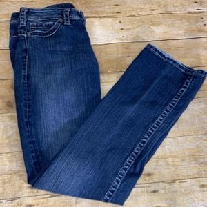 Silver Jeans 28 Tuesday 16 1/2 Western Glove Works
